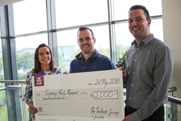 Twomey Family Cheque
